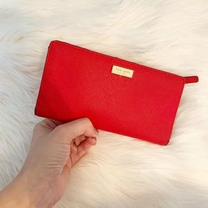 Kate Spade Stacy Laurel Way Leather Wallet